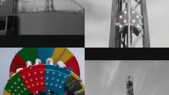 大型游乐设备- 旋转塔