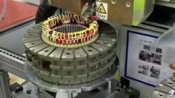 左右夹焊式电机定子引出线熔接机